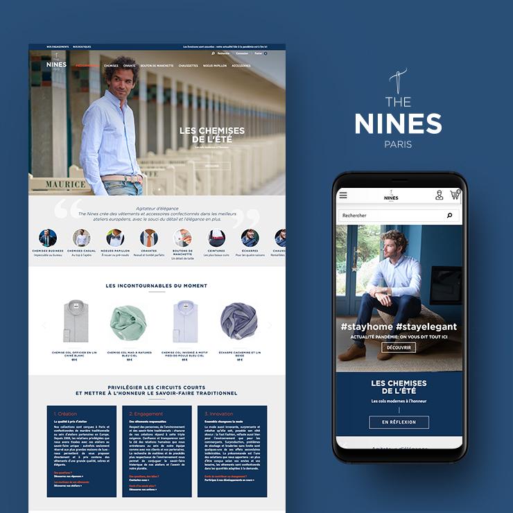 Site Prestashop The Nines