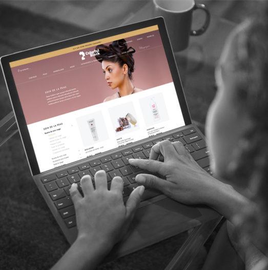 site e-commerce sous Shopify Plus