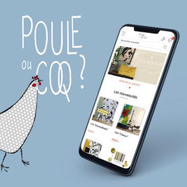Création du site marchand Poule ou Coq à Yssingeaux sous Prestashop